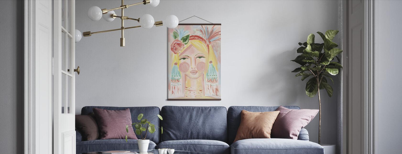 Fresh Face II - Poster - Living Room