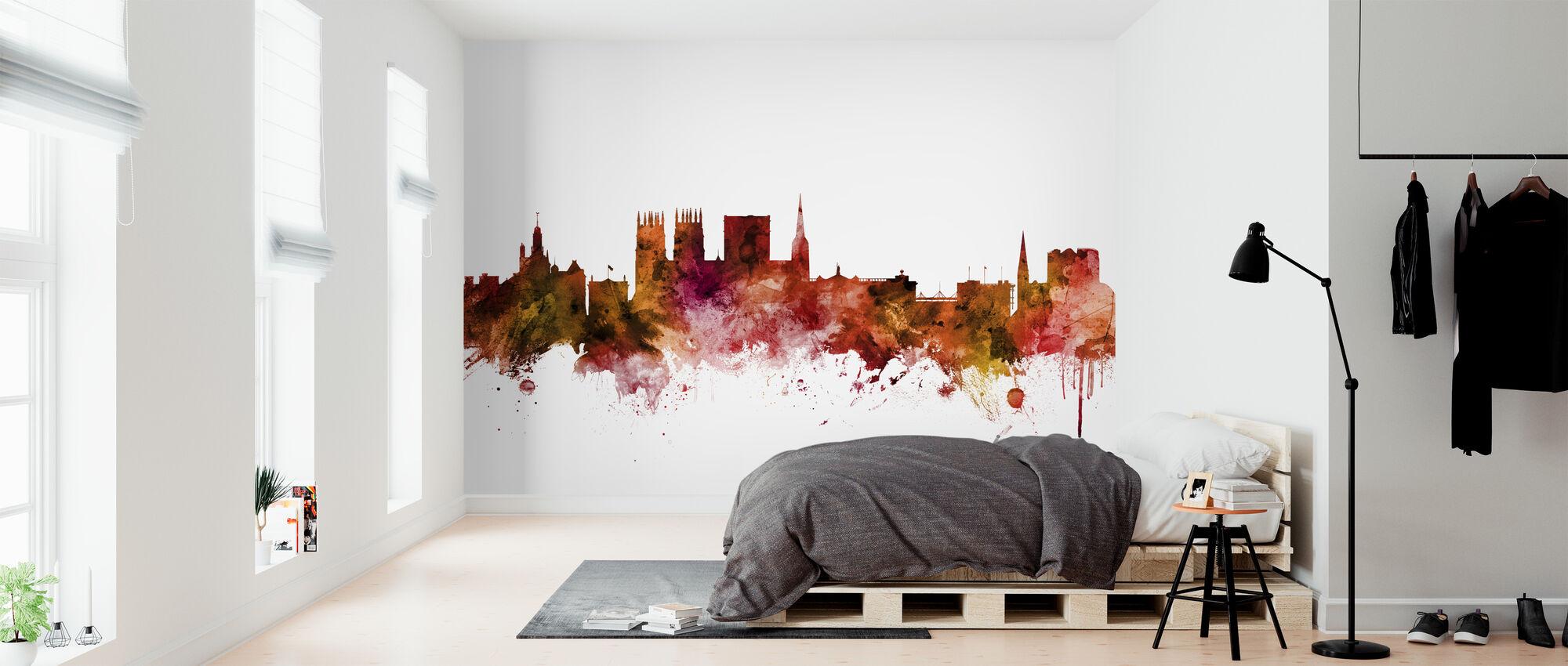 York England Skyline - Wallpaper - Bedroom