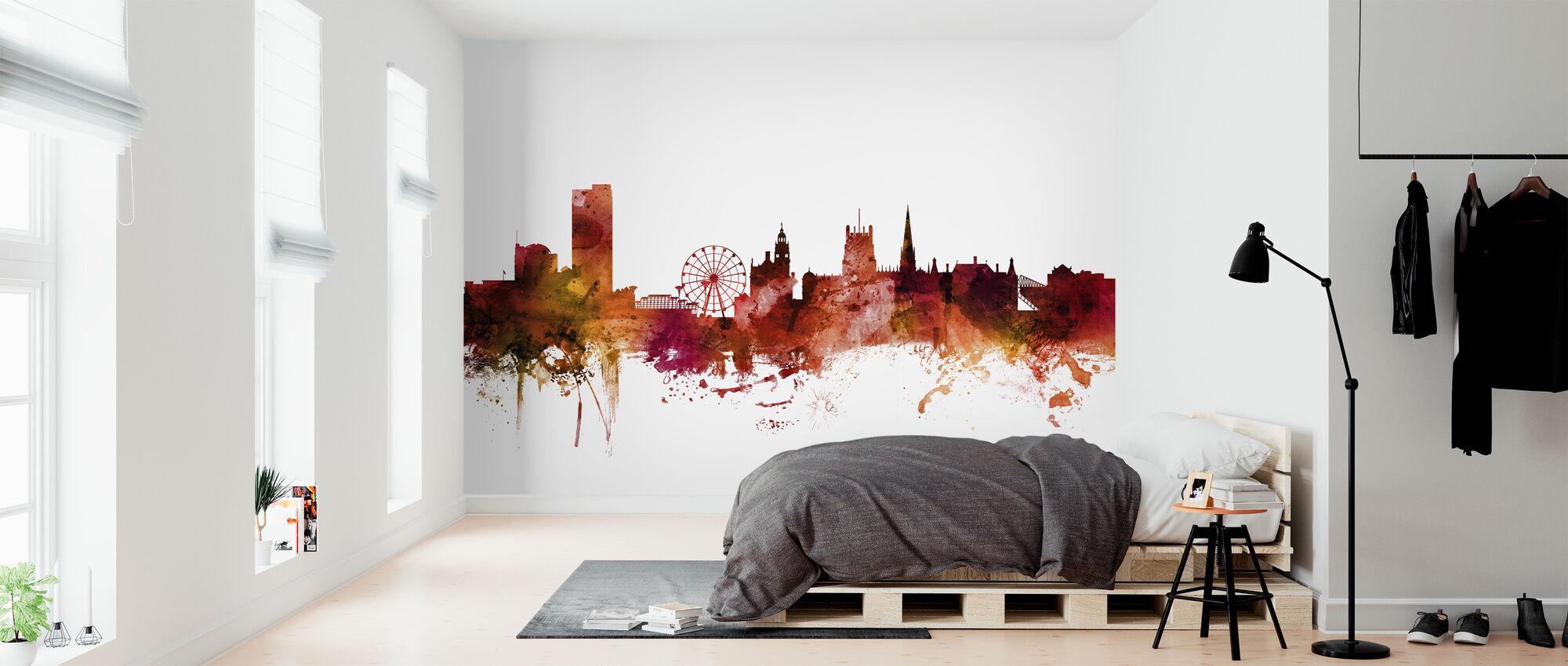 Sheffield England Skyline - Wallpaper - Bedroom