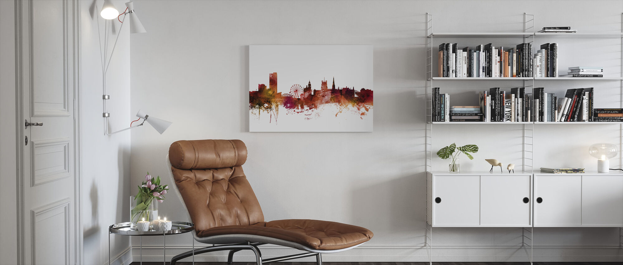 Sheffield England Skyline - Canvas print - Living Room