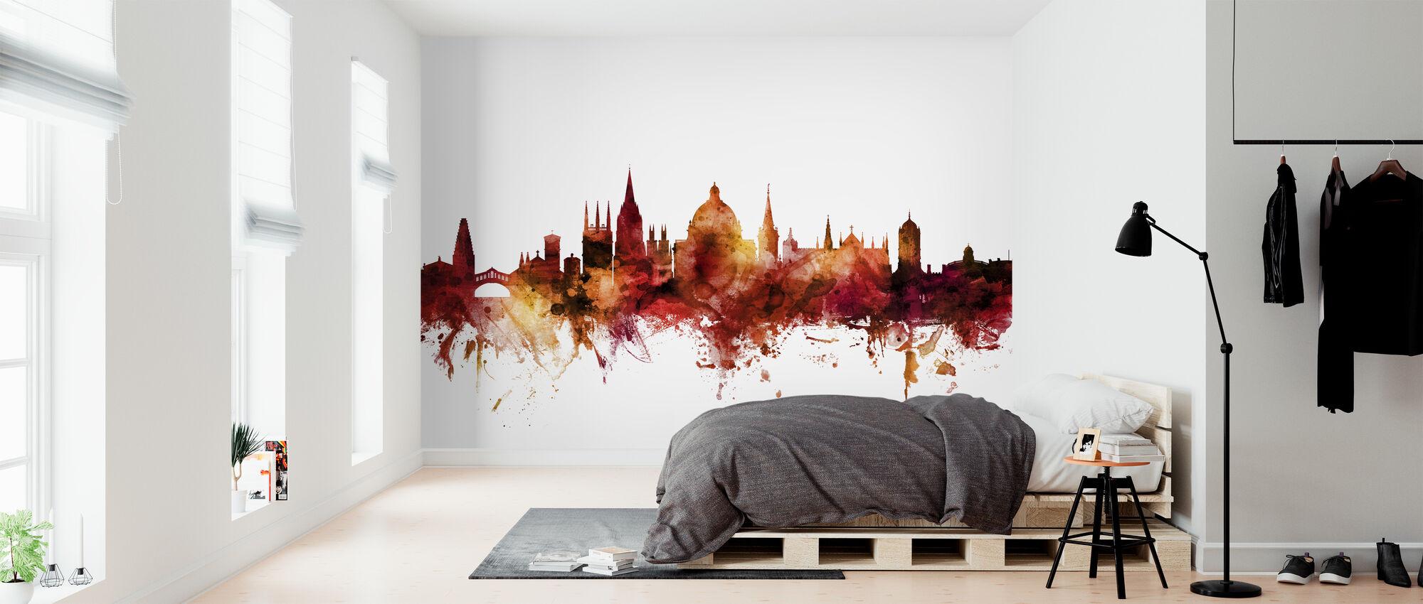 Oxford England Skyline - Wallpaper - Bedroom