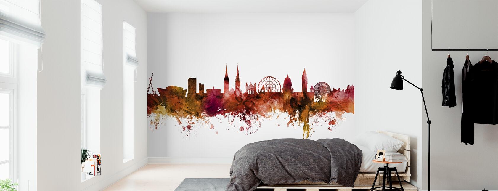 Belfast Northern Ireland Skyline - Wallpaper - Bedroom