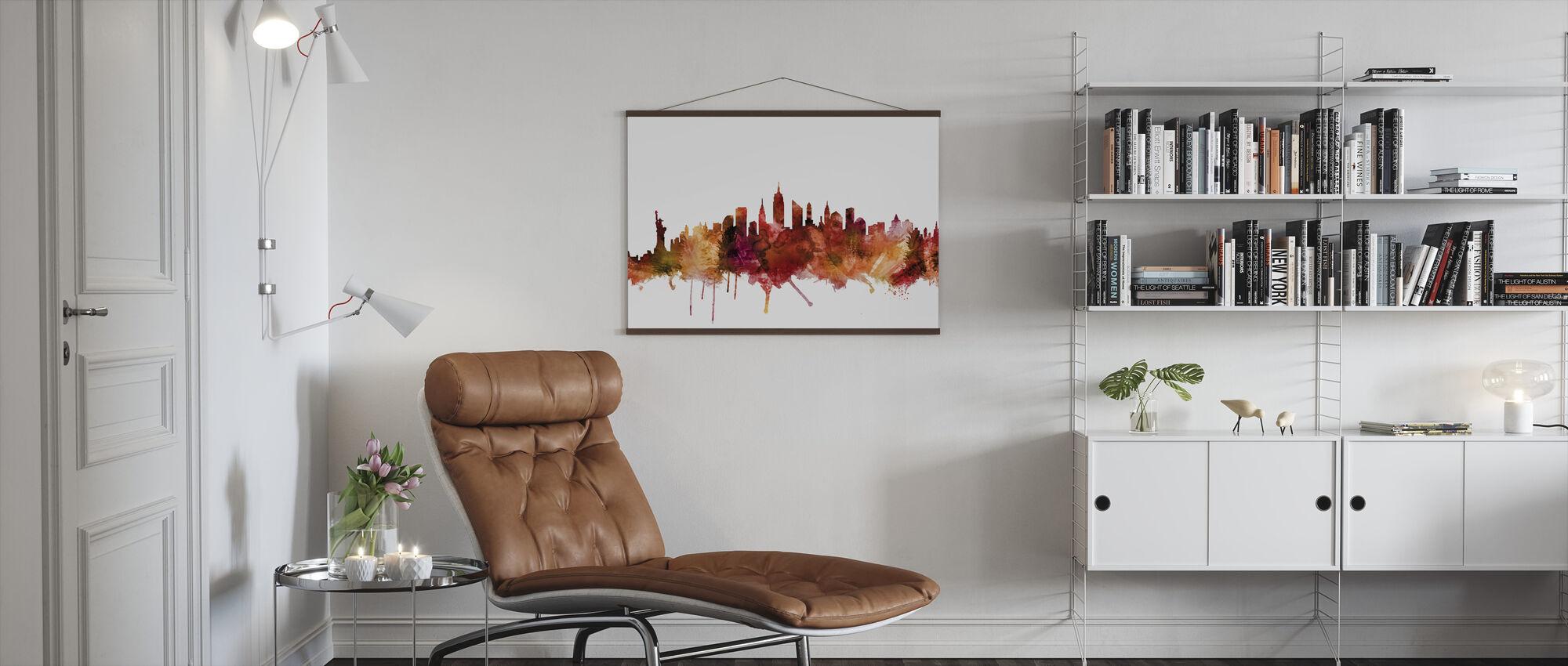 New York City Skyline - Poster - Living Room