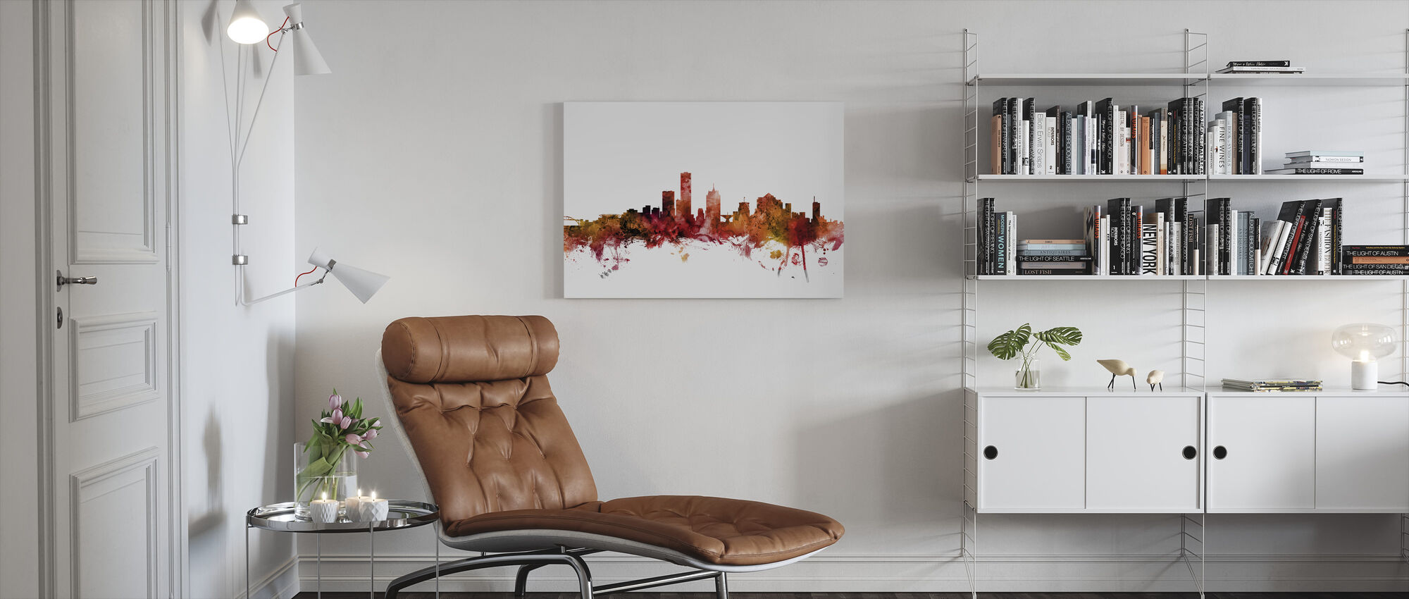 Milwaukee Wisconsin - Canvas print - Woonkamer