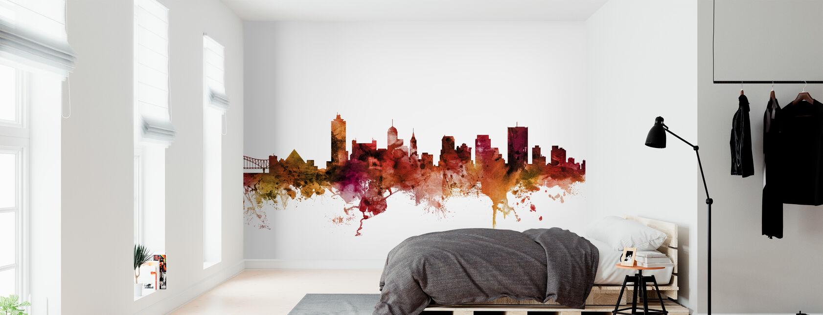Memphis Tennessee Skyline - Wallpaper - Bedroom