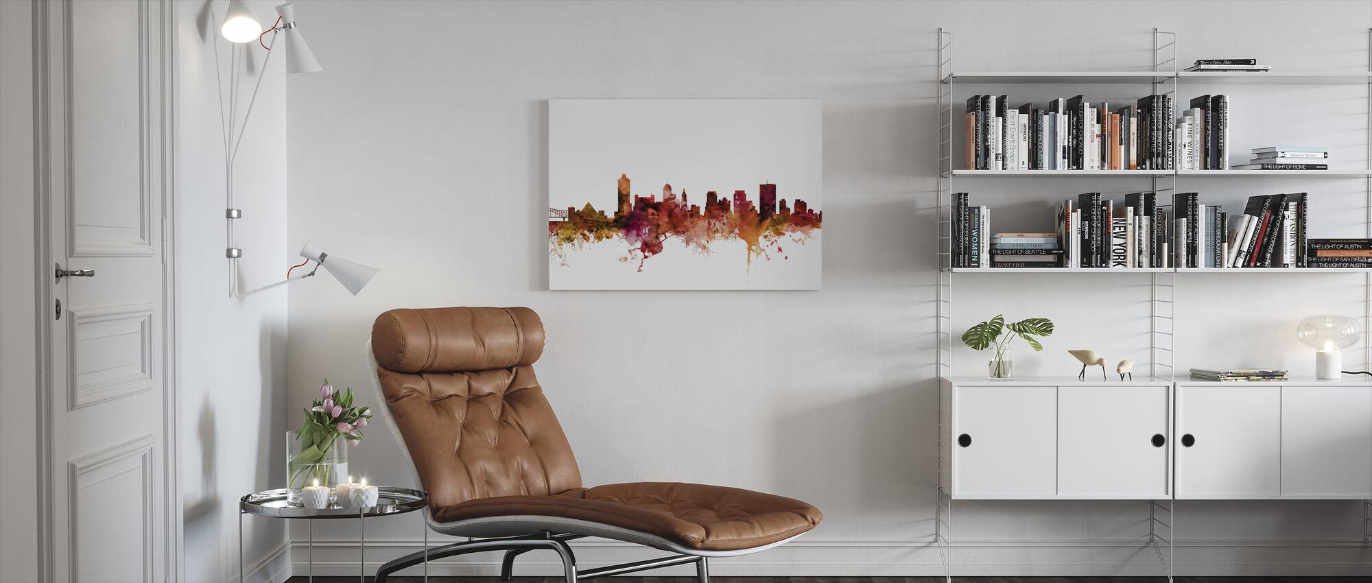 Memphis Tennessee Skyline - Canvas print - Living Room