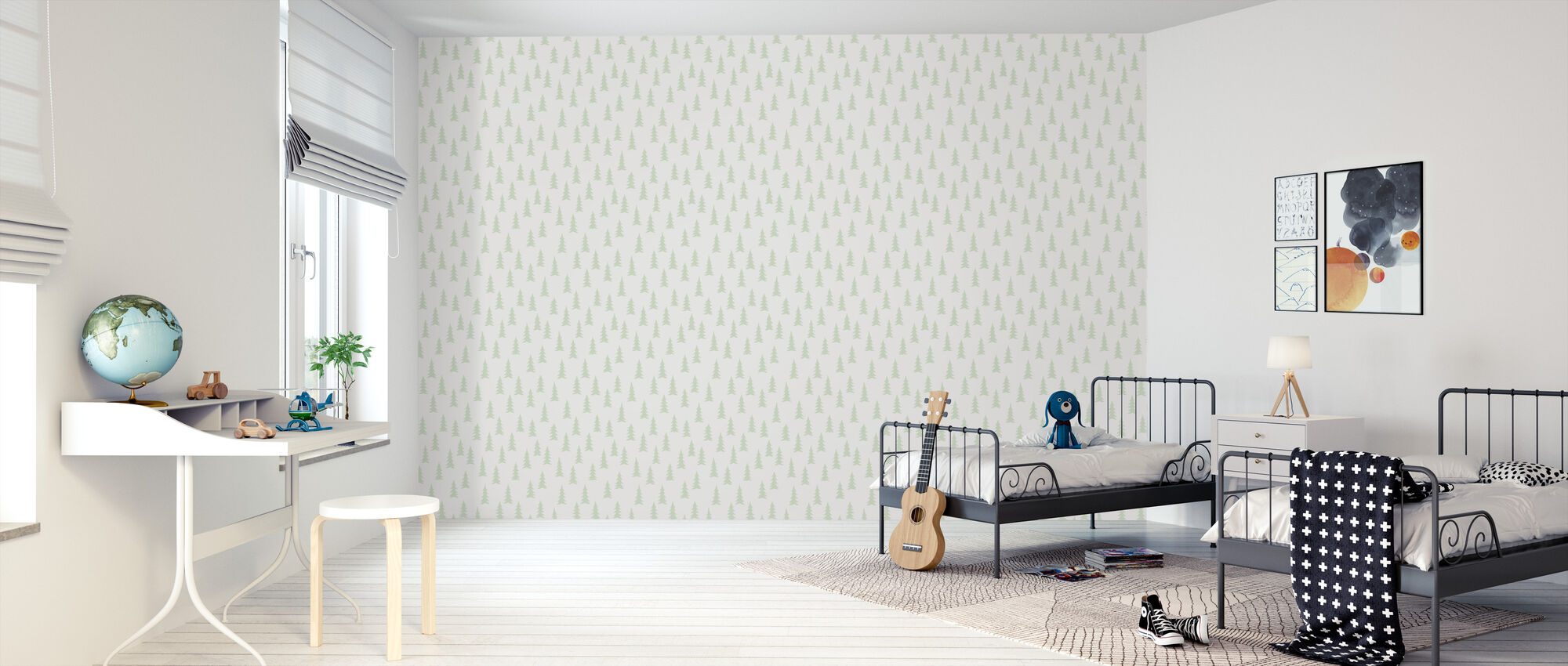 Gran - Saltsten - Wallpaper - Kids Room