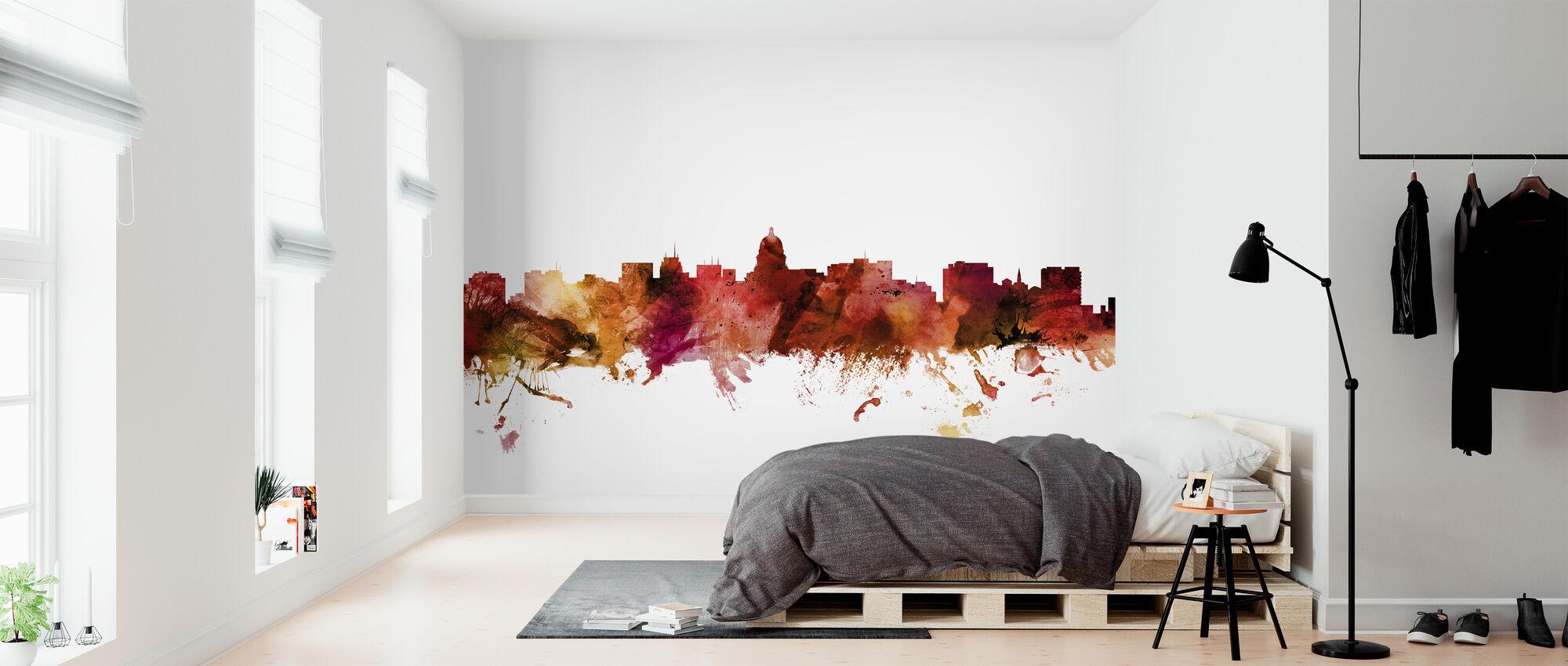 Madison Wisconsin Skyline - Wallpaper - Bedroom