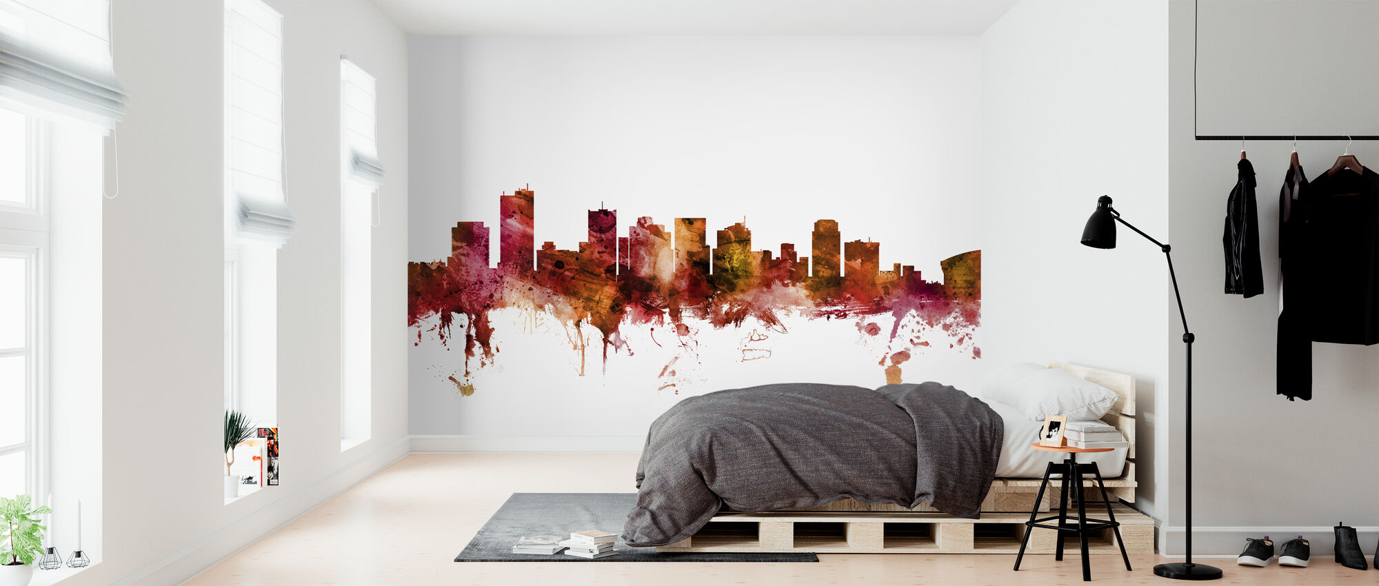 Phoenix Arizona Skyline - Wallpaper - Bedroom