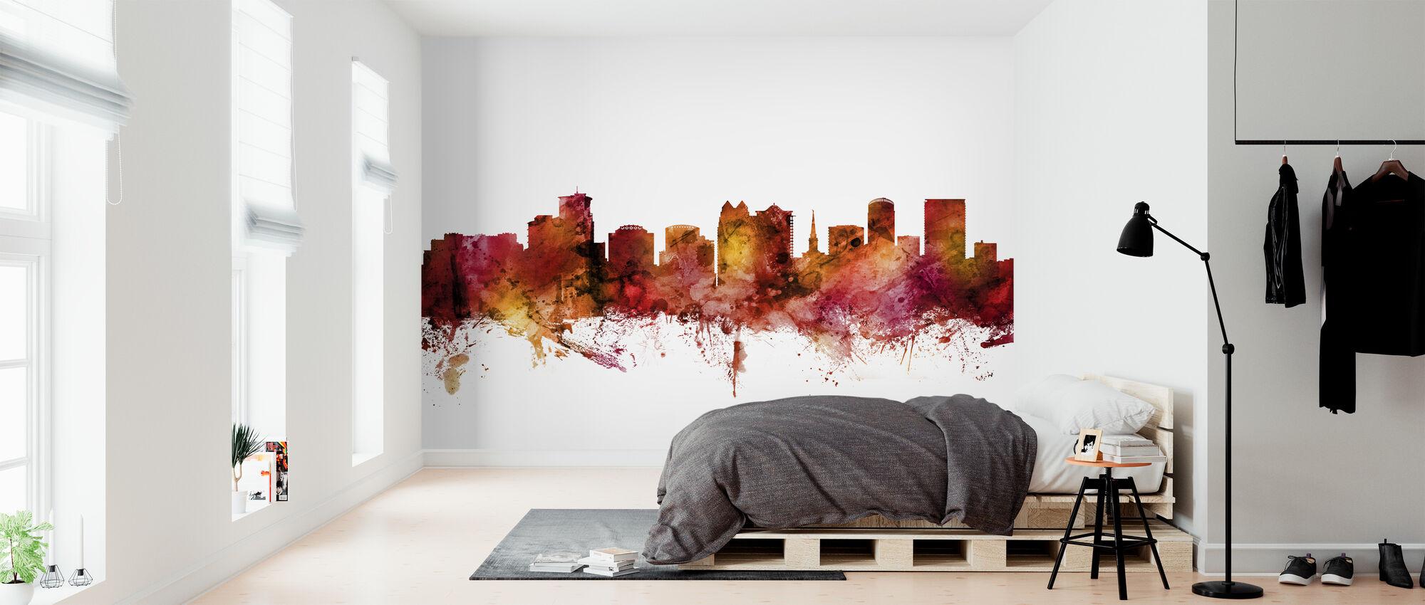 Orlando Florida Skyline - Wallpaper - Bedroom