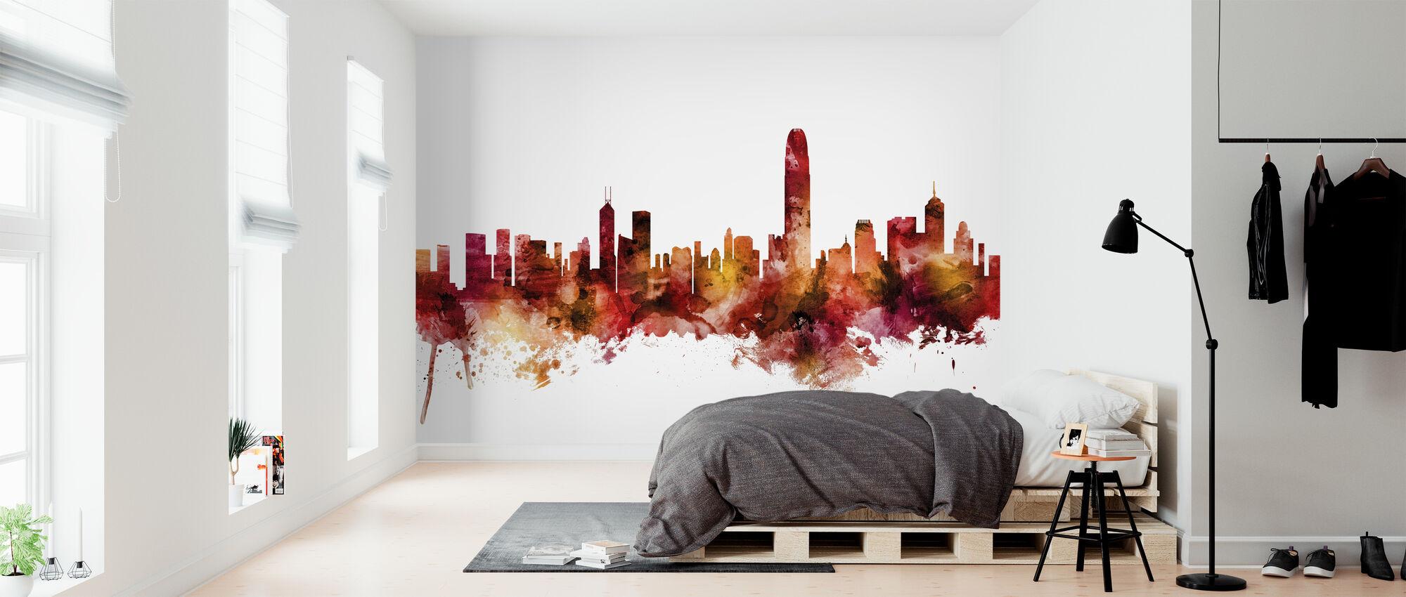 Hong Kong Skyline - Wallpaper - Bedroom