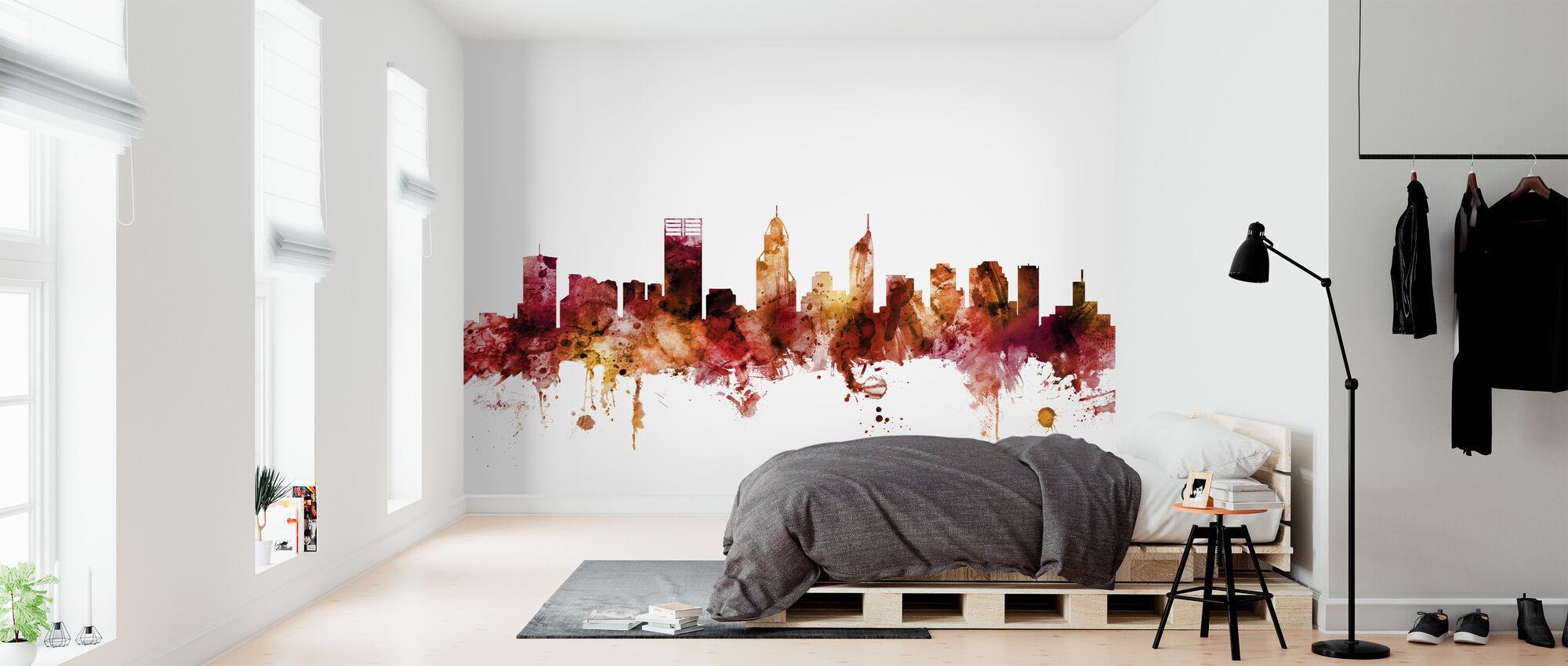 Perth Australia Skyline - Wallpaper - Bedroom