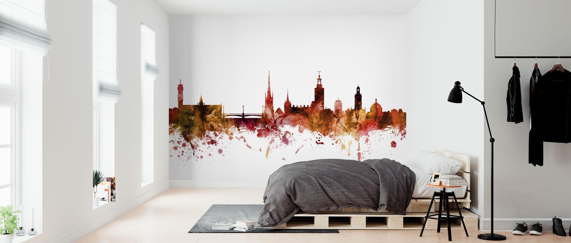 Stockholm Sweden Skyline - Wallpaper - Bedroom