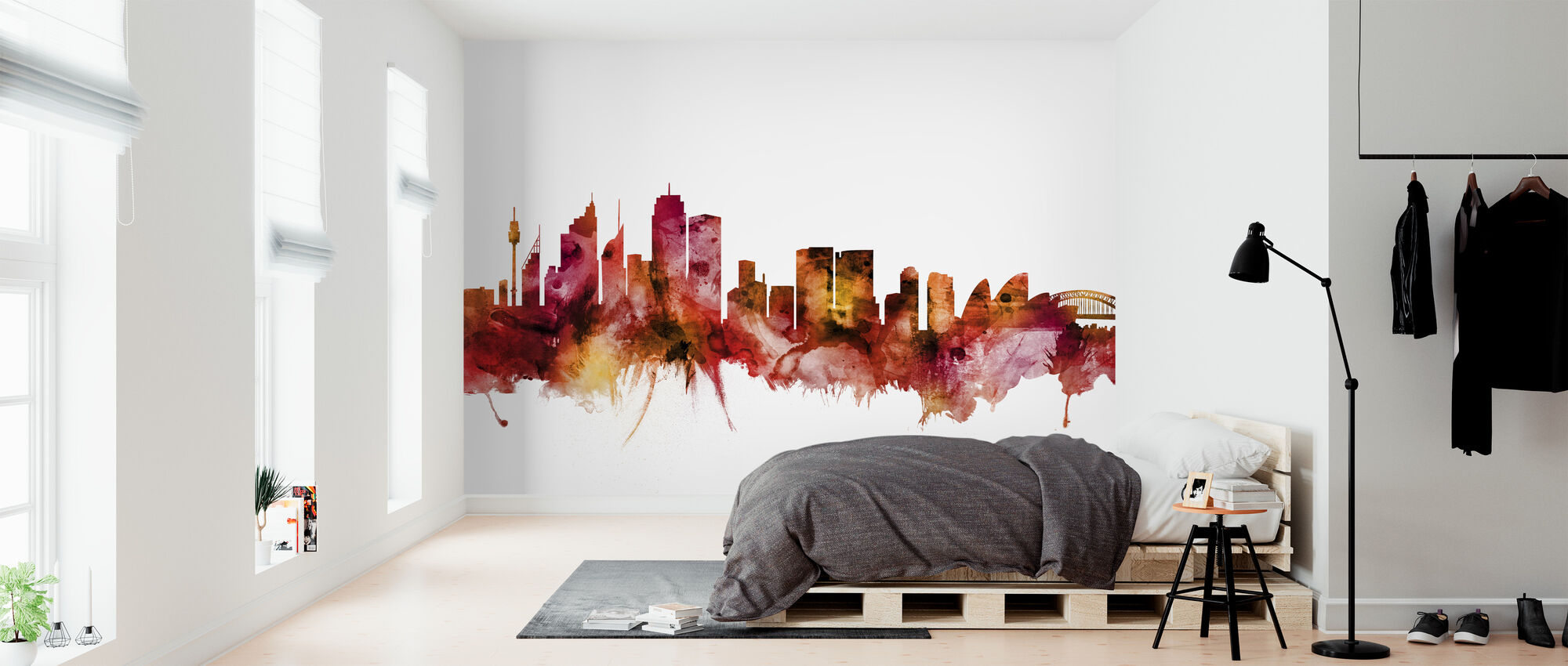 Sydney Australia Skyline - Wallpaper - Bedroom
