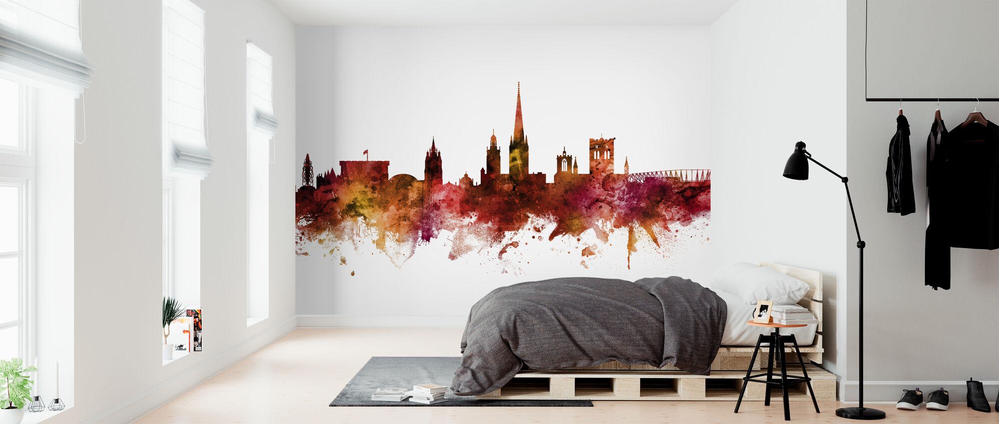 Norwich England Skyline - Wallpaper - Bedroom