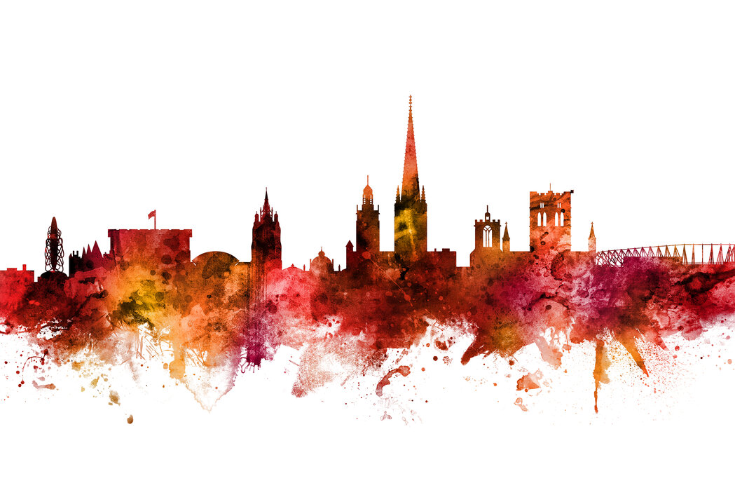 Norwich England Skyline Popular Wall Mural Photowall