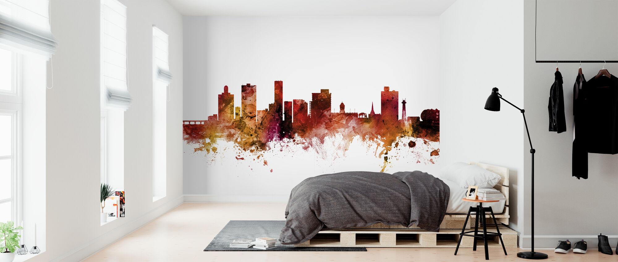 Port Elizabeth South Africa Skyline - Wallpaper - Bedroom