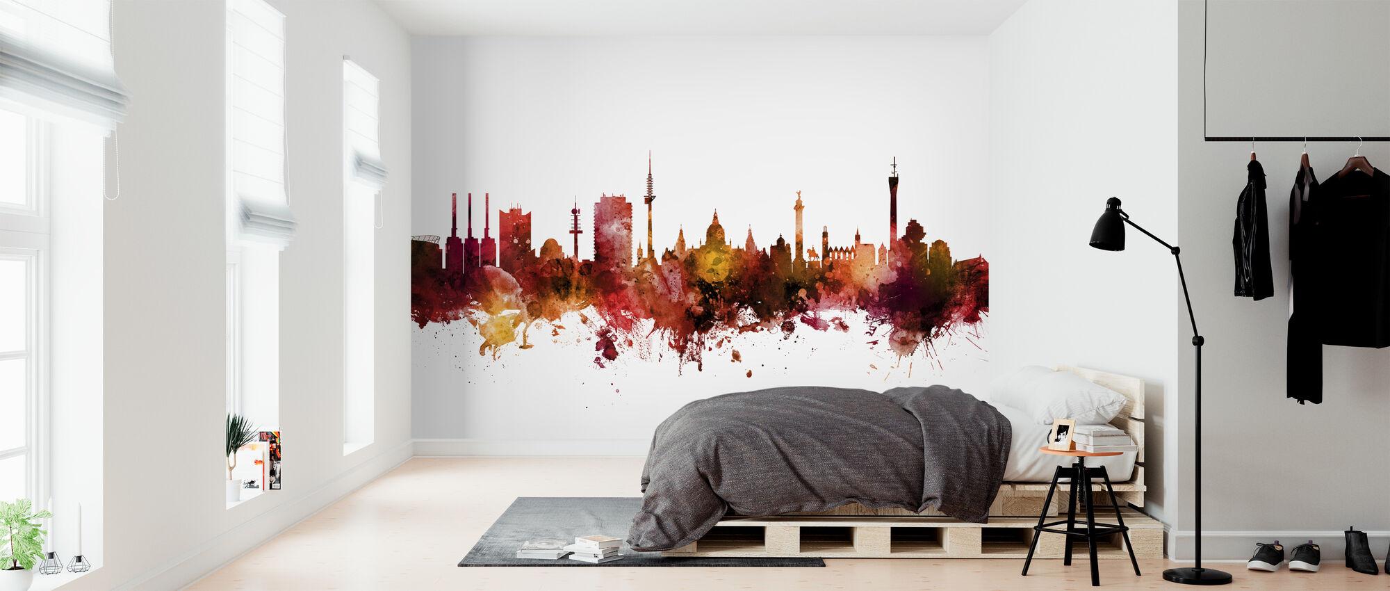 Hannover Germany Skyline - Wallpaper - Bedroom