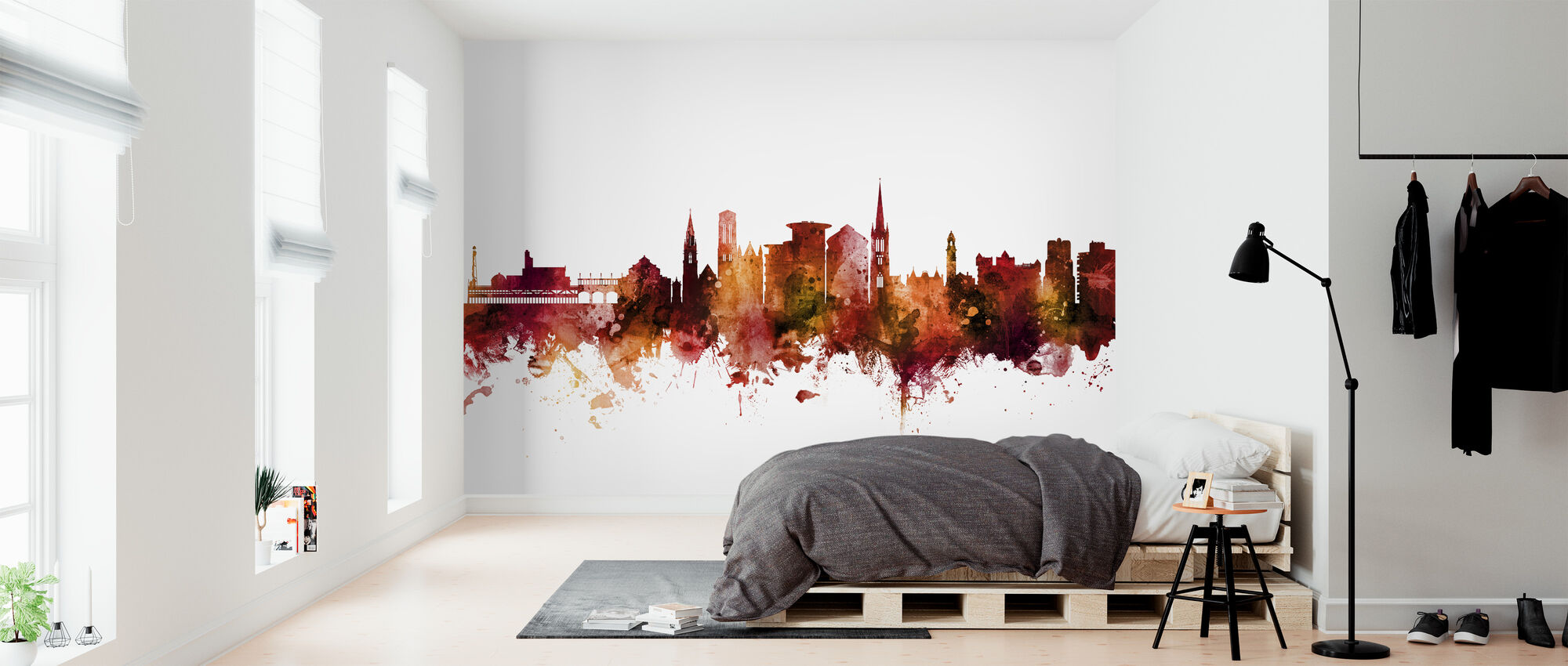 Bournemouth England Skyline - Wallpaper - Bedroom