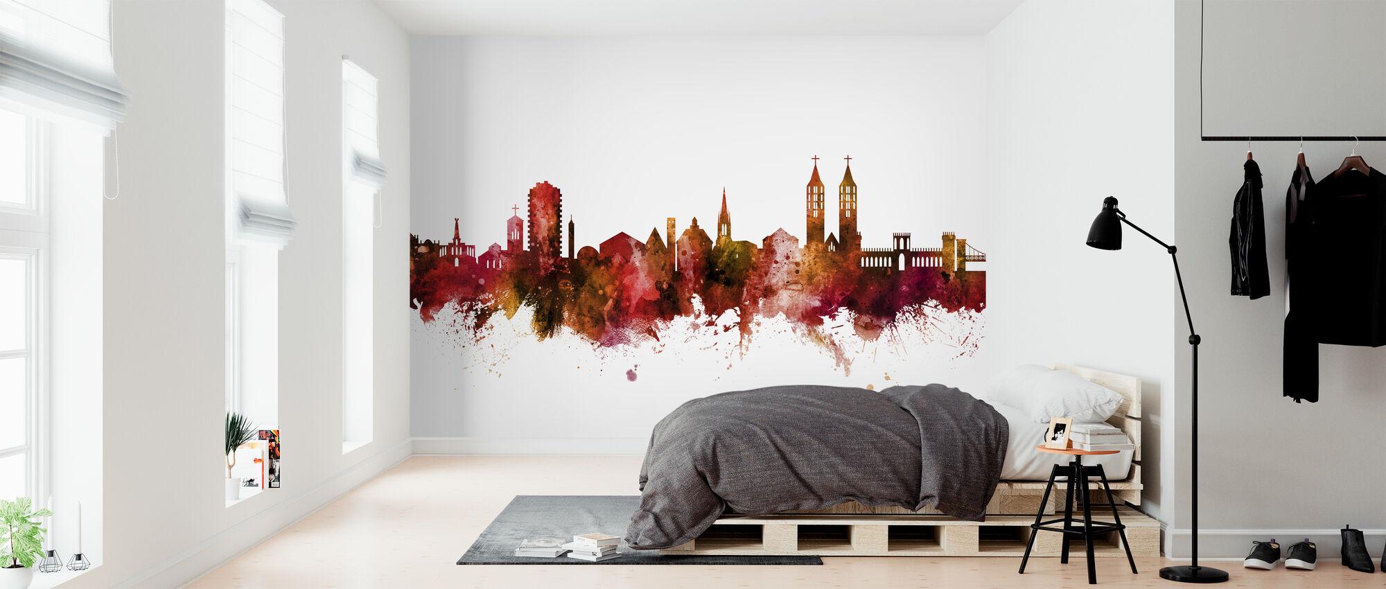 Kassel Germany Skyline - Wallpaper - Bedroom