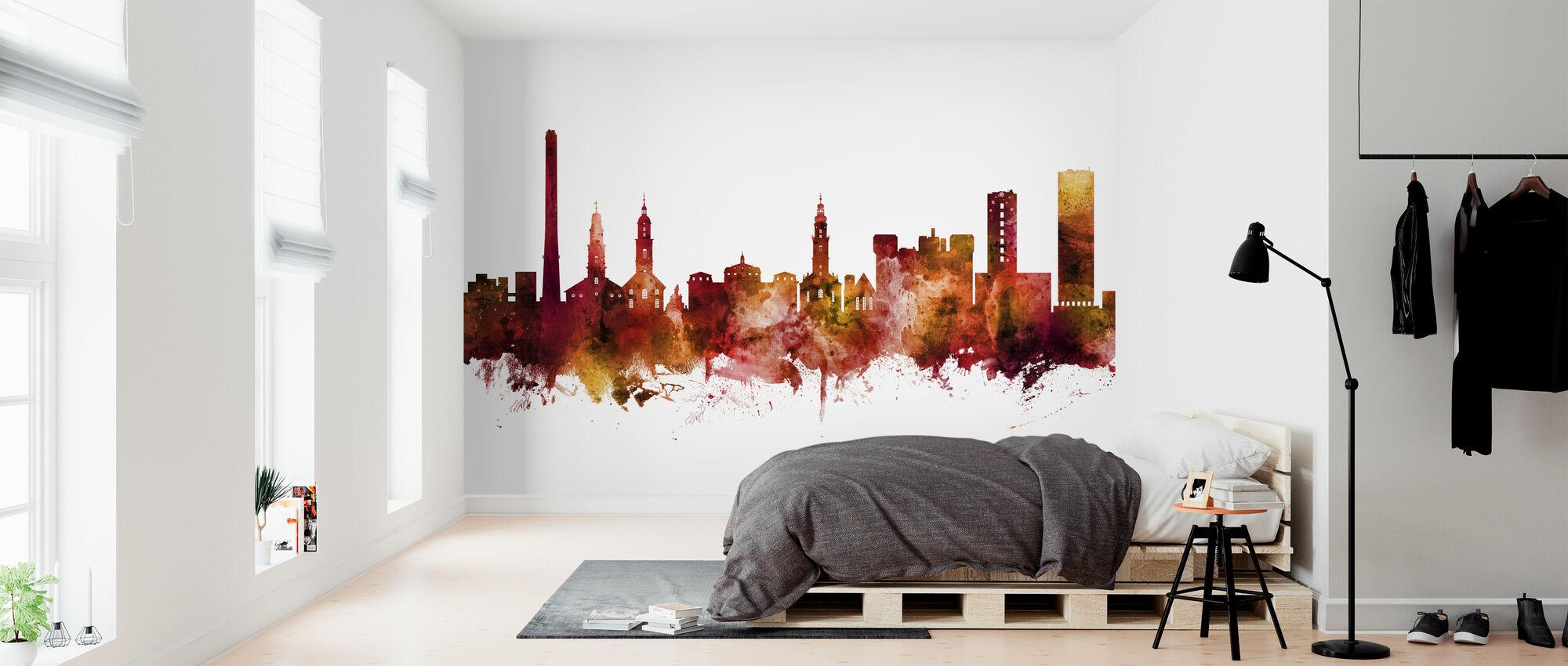 Erlangen Germany Skyline - Wallpaper - Bedroom
