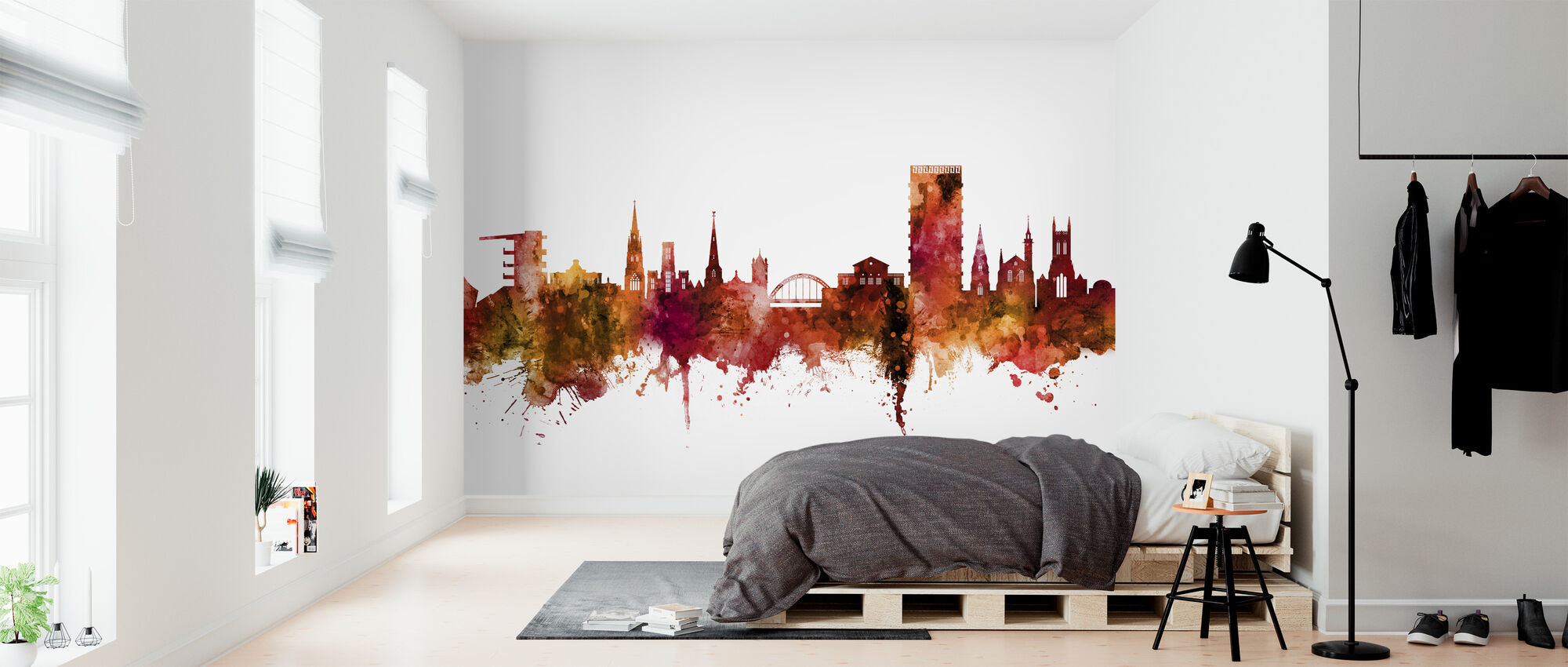 Cheltenham England Skyline - Wallpaper - Bedroom