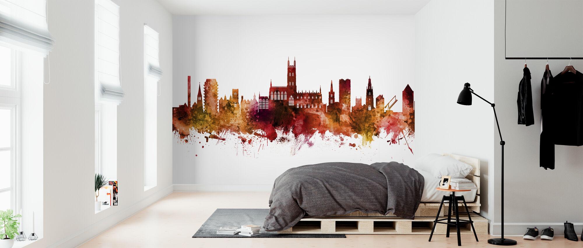 Gloucester England Skyline - Wallpaper - Bedroom