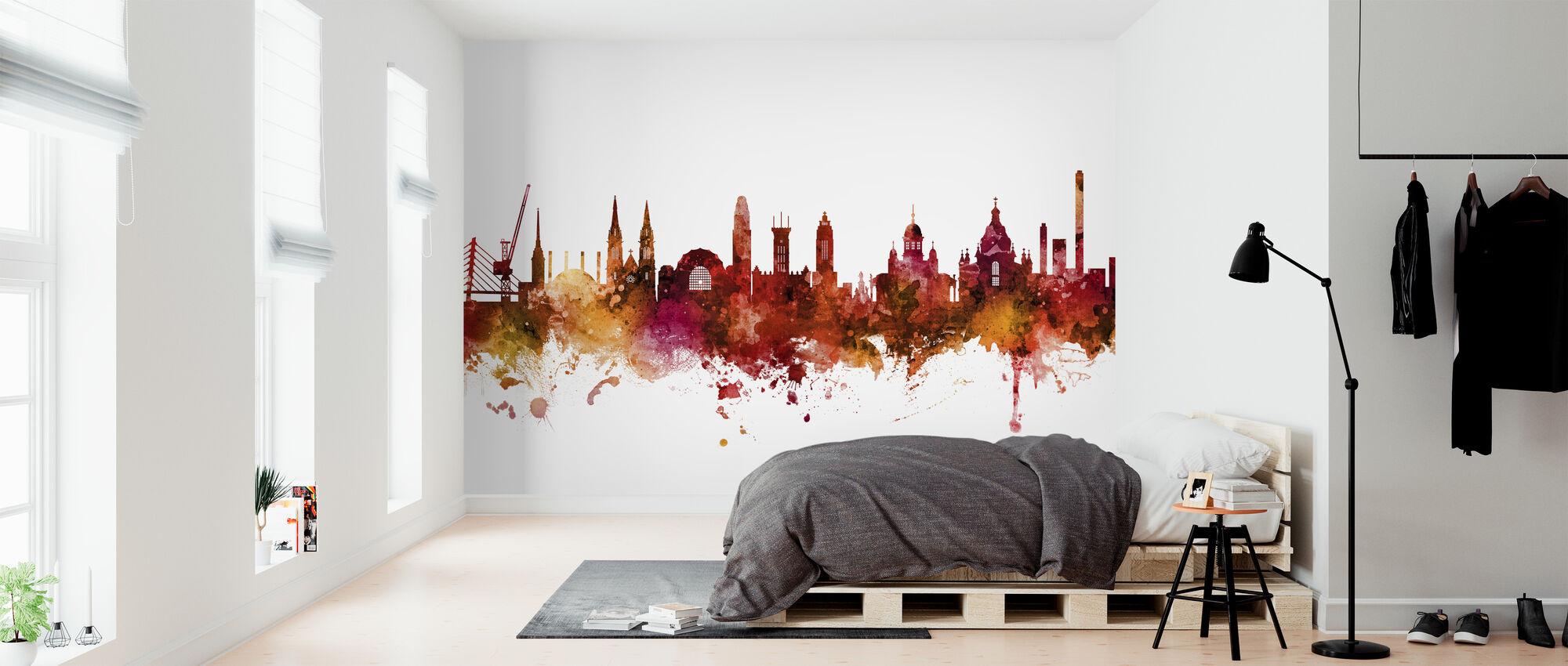 Helsinki Finland Skyline - Wallpaper - Bedroom