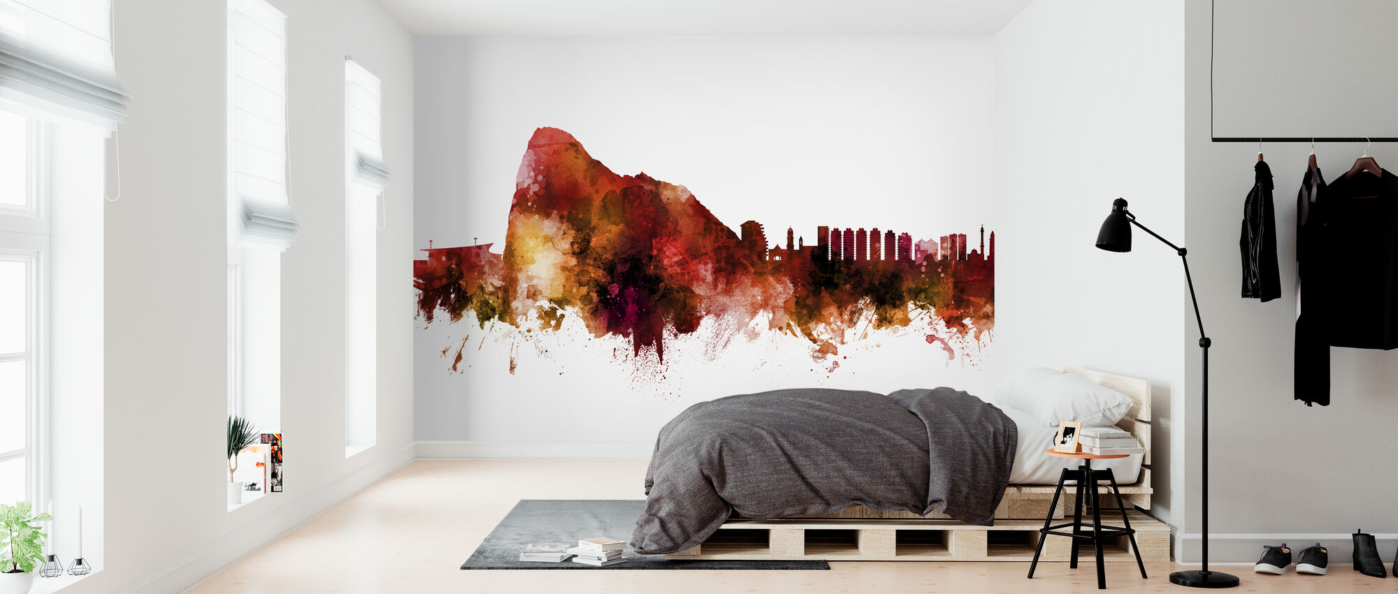 Gibraltar Skyline - Wallpaper - Bedroom