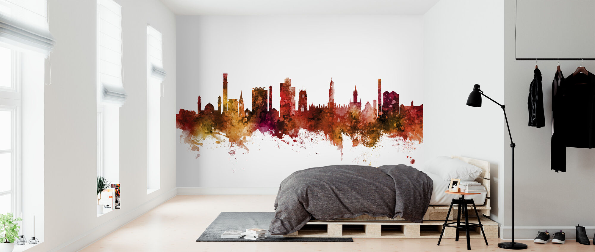 Bradford England Skyline - Wallpaper - Bedroom