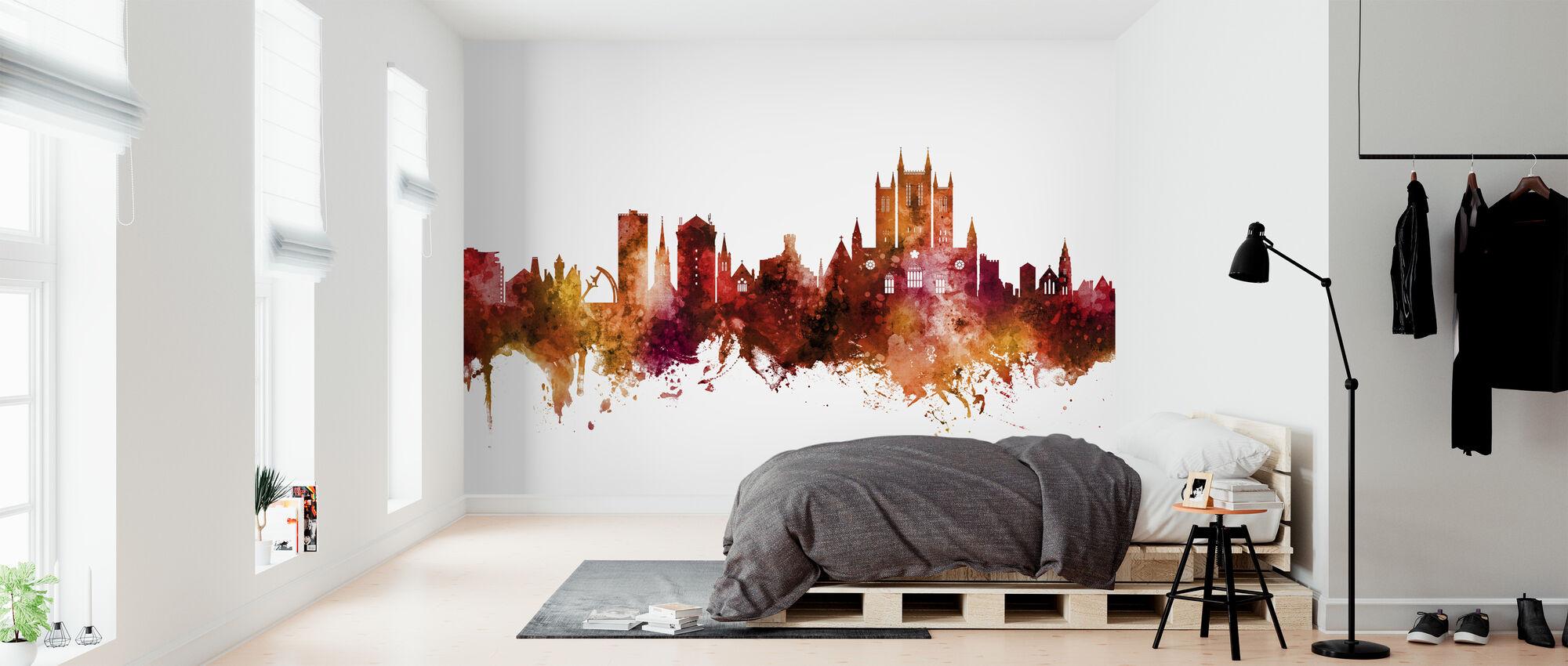 Lincoln England Skyline - Wallpaper - Bedroom