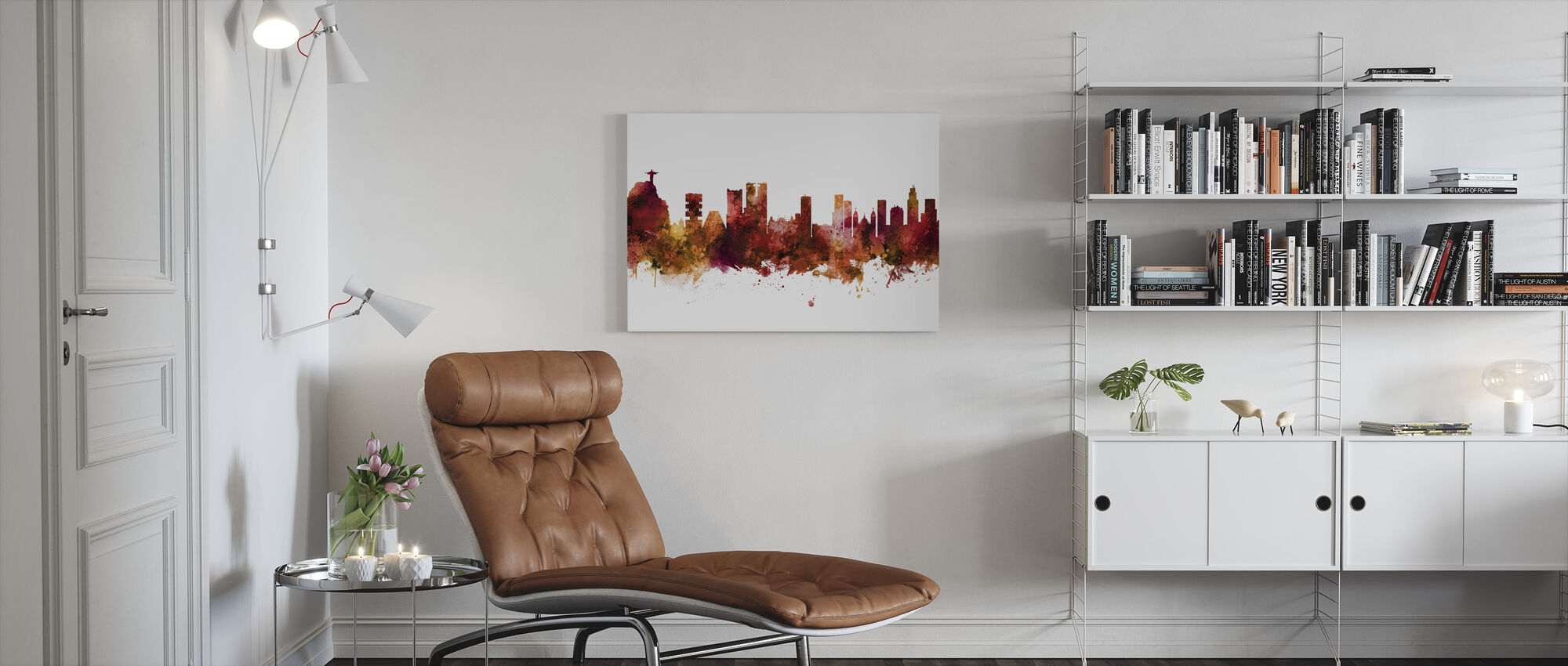 Rio de Janeiro Skyline Brazil - Canvas print - Woonkamer