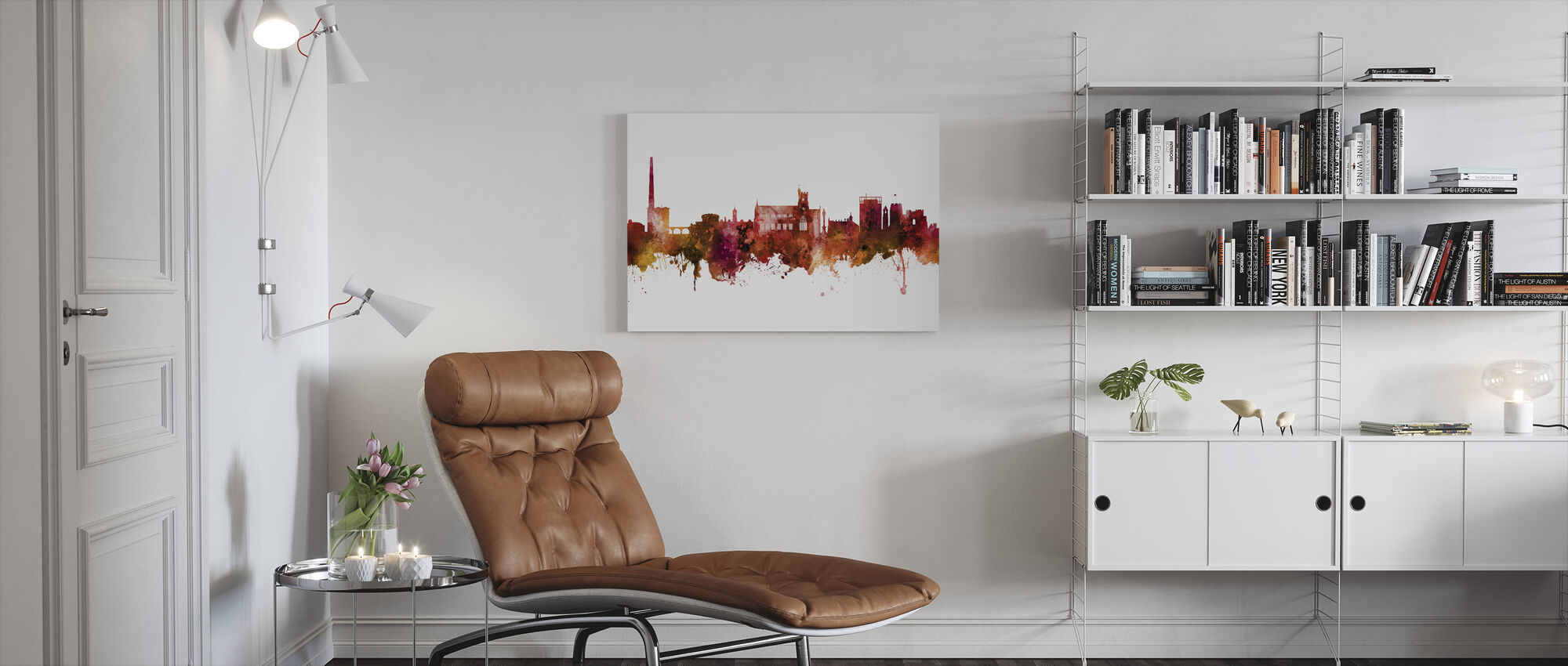 Carlisle England Skyline - Canvas print - Living Room