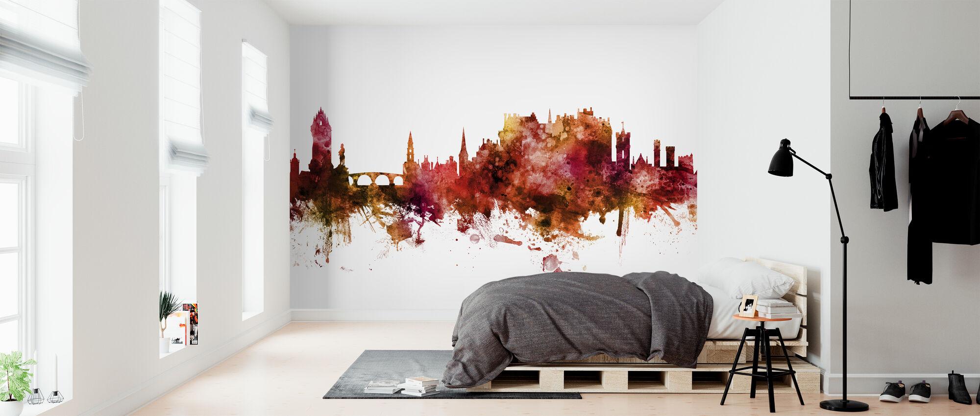 Stirling Scotland Skyline - Wallpaper - Bedroom