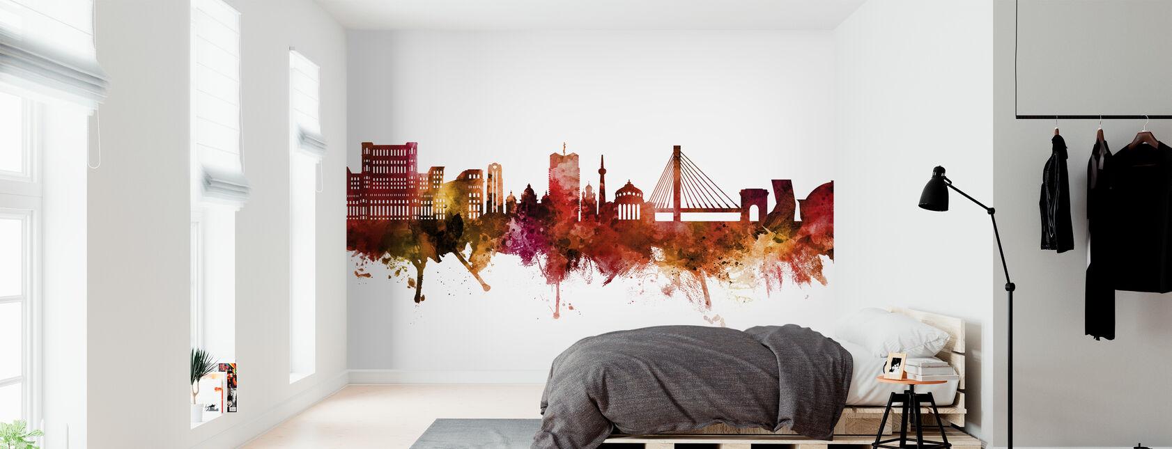 Bucharest Romania Skyline - Wallpaper - Bedroom