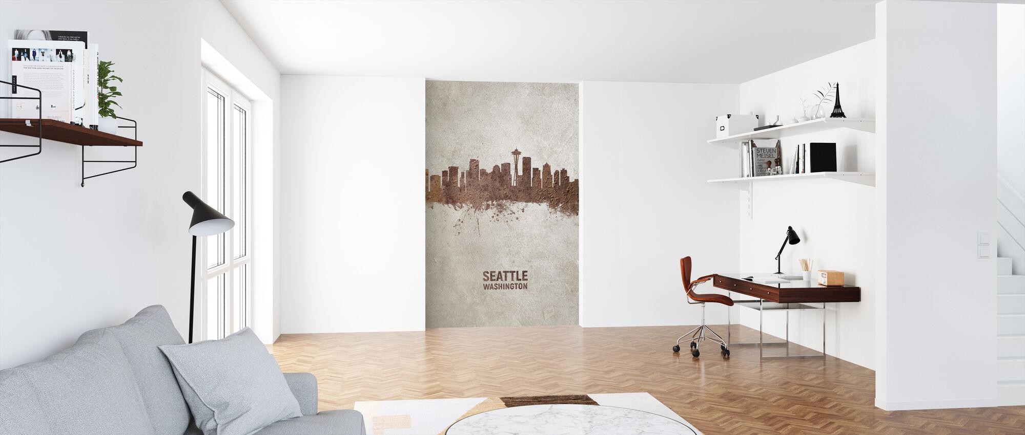 Seattle Skyline - Tapet - Kontor