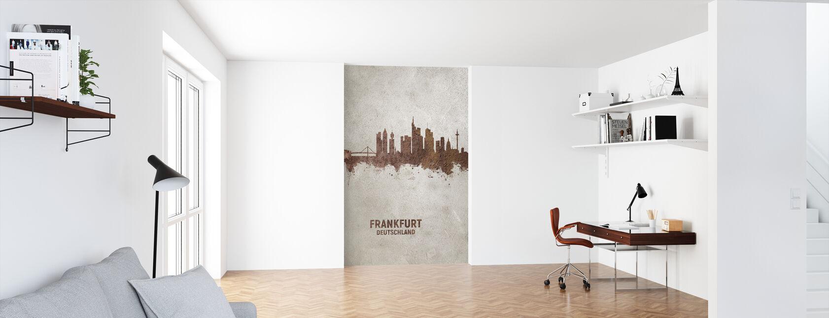 Frankfurt Saksa Rust Skyline - Tapetti - Toimisto