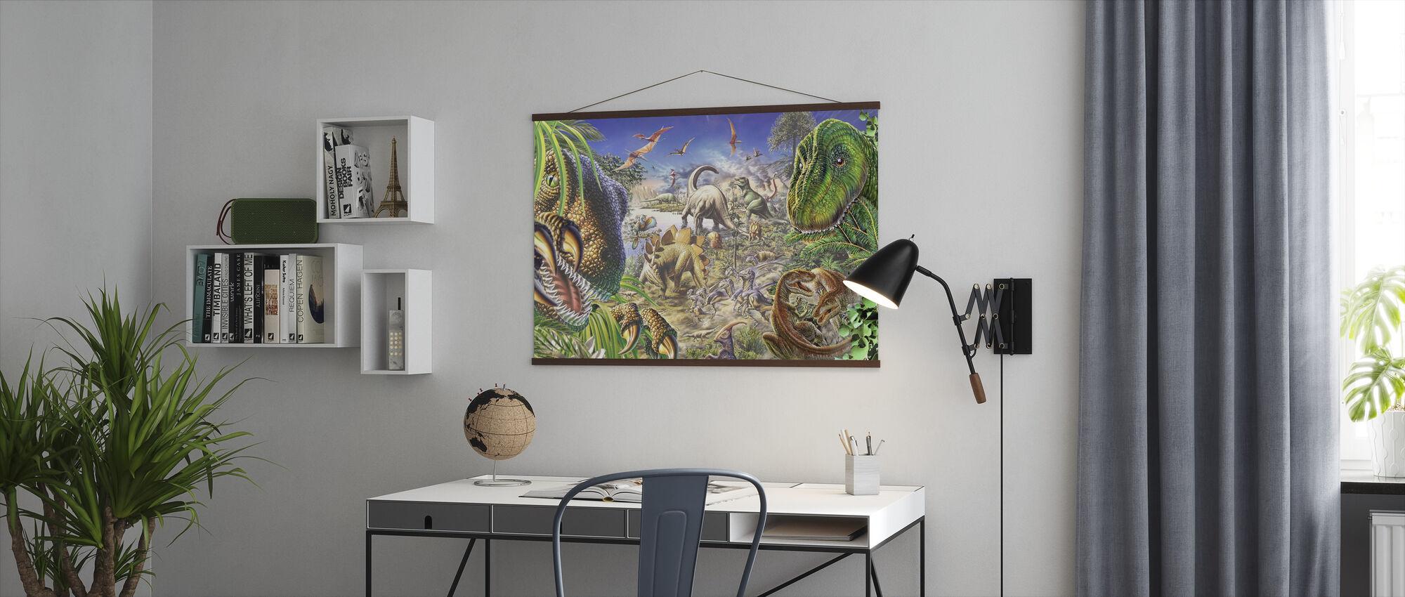 Dinosaurussen Wereld - Poster - Kantoor