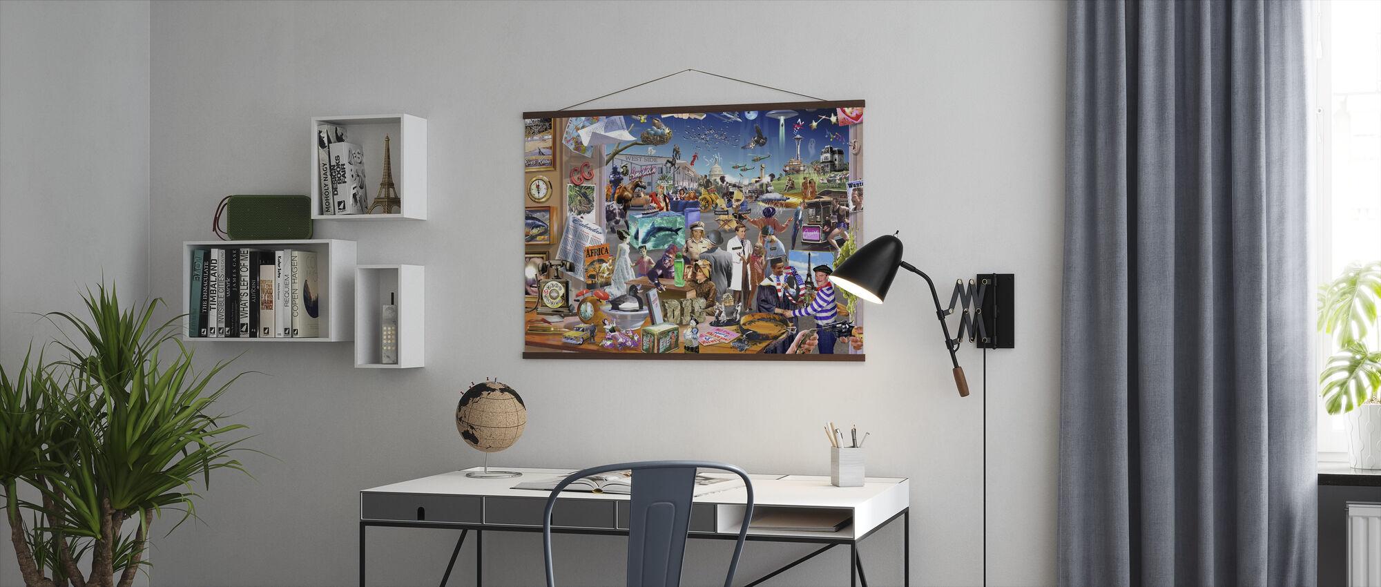 Film-waanzin - Poster - Kantoor
