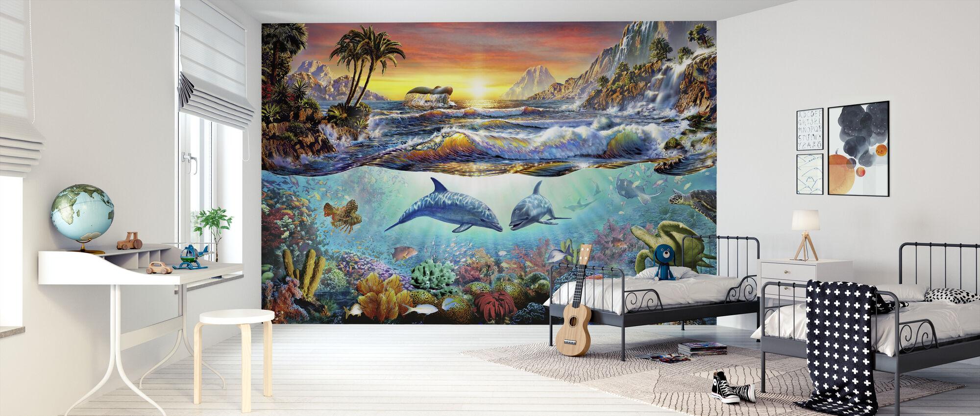 Paradise bay - Wallpaper - Kids Room