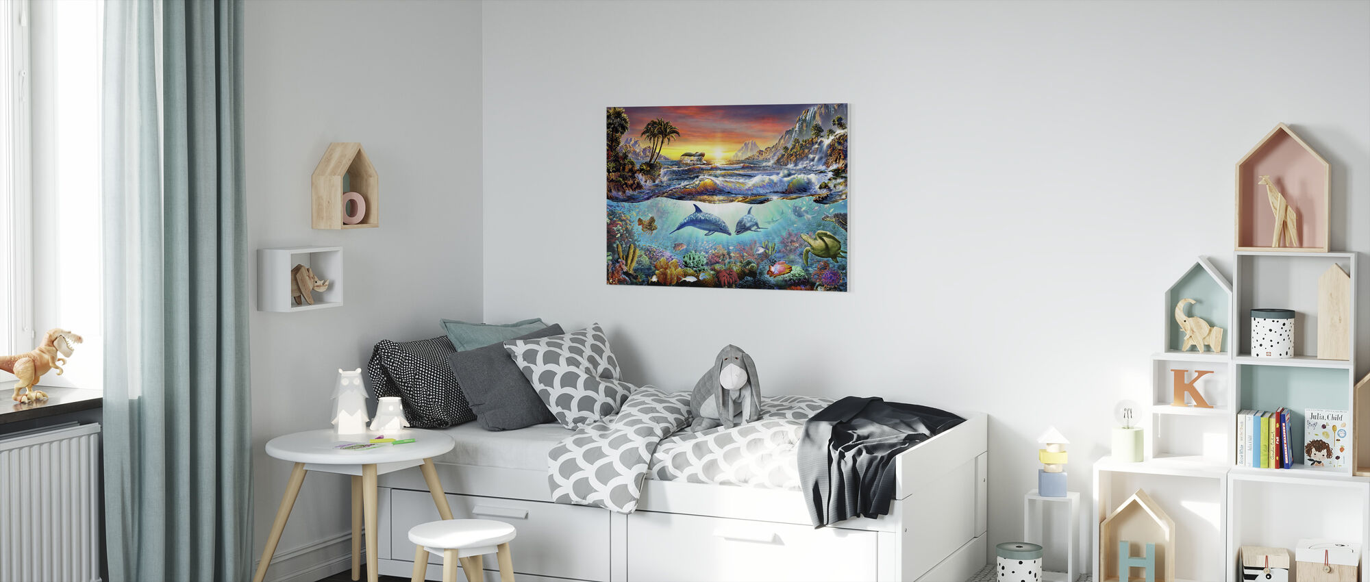 Paradise Bay - Canvas print - Kinderkamer