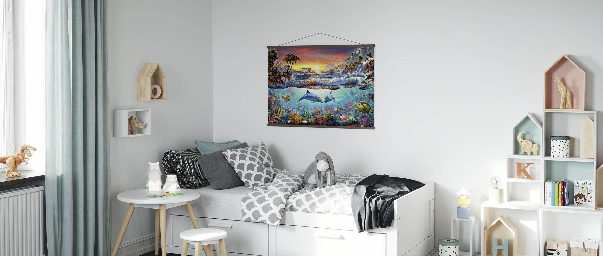 Paradise bukten - Plakat - Barnerom