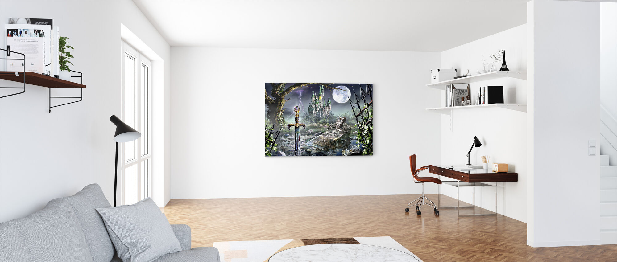 The Promise - Canvas print - Office
