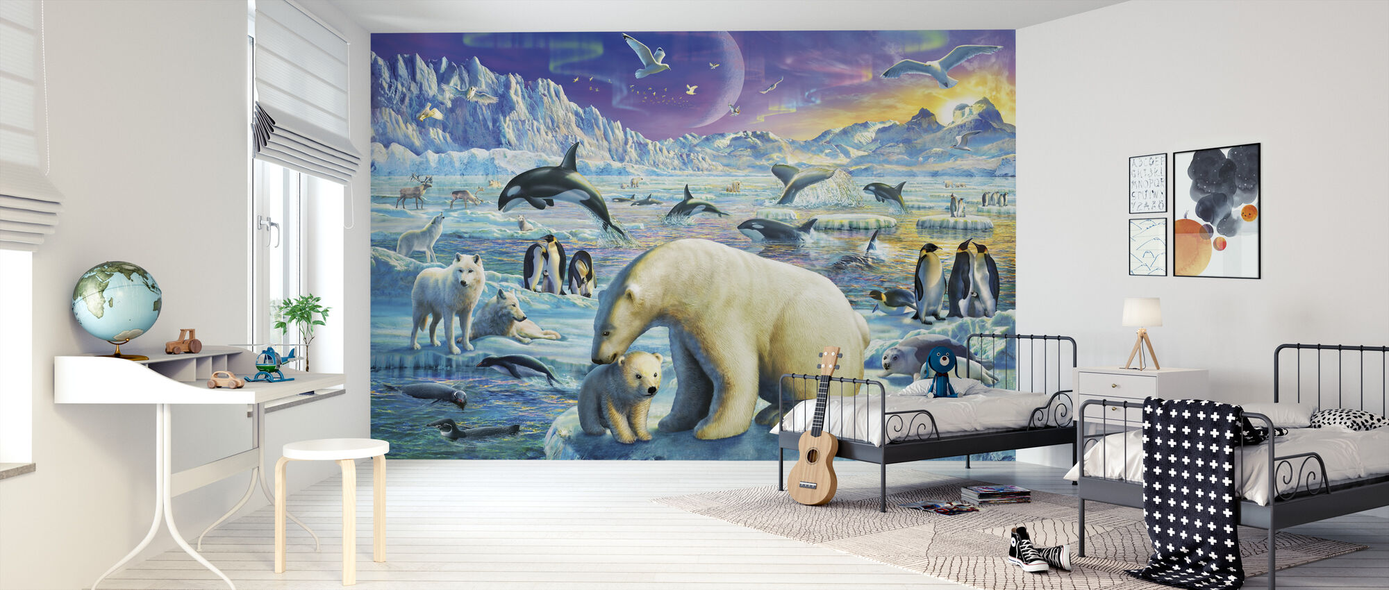 Arctic Night - Wallpaper - Kids Room