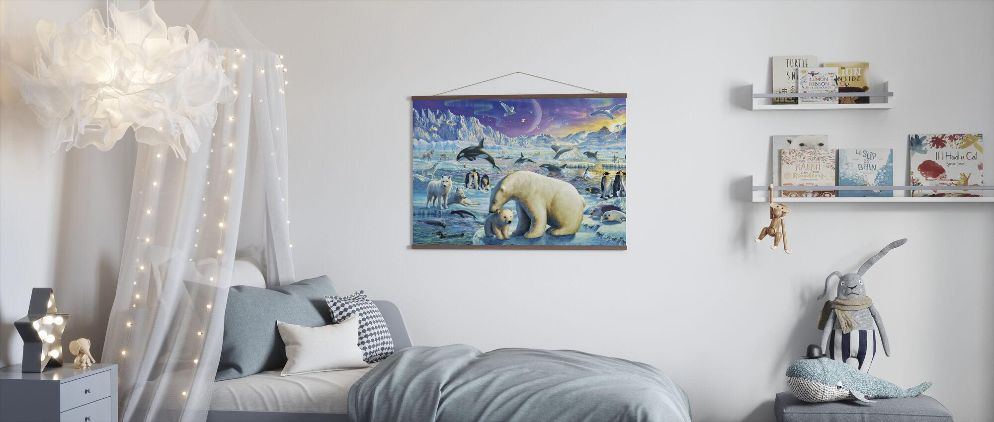 Arctic Night - Poster - Kids Room