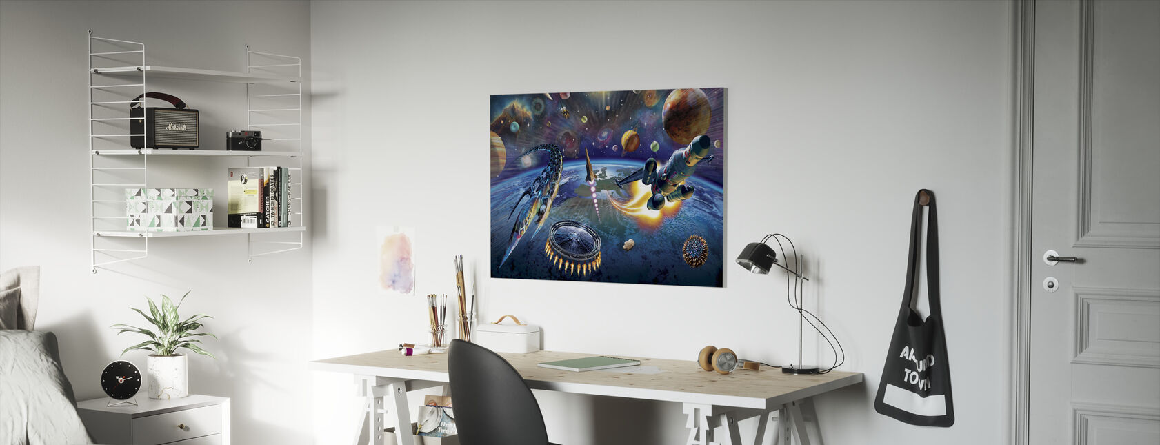 Buitenruimte - Canvas print - Kinderkamer