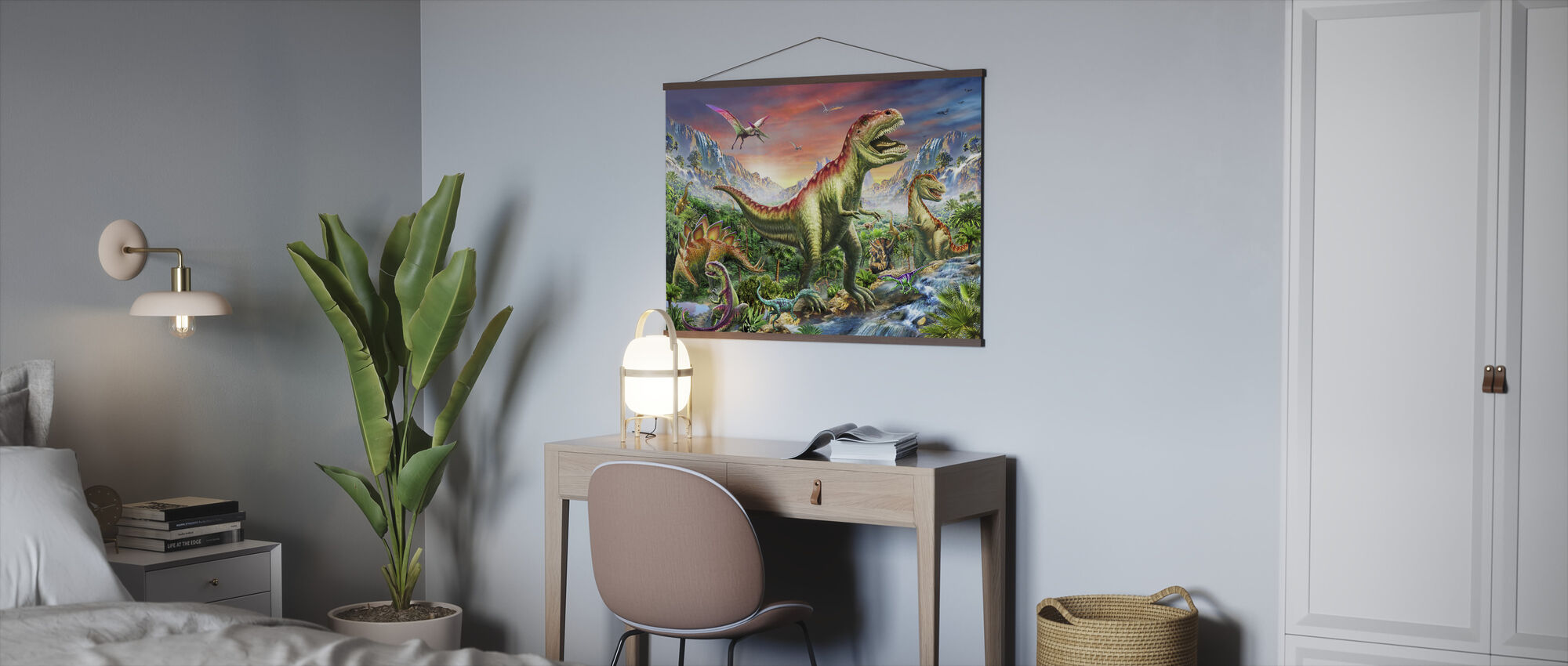 Jurassic Forest - Poster - Office