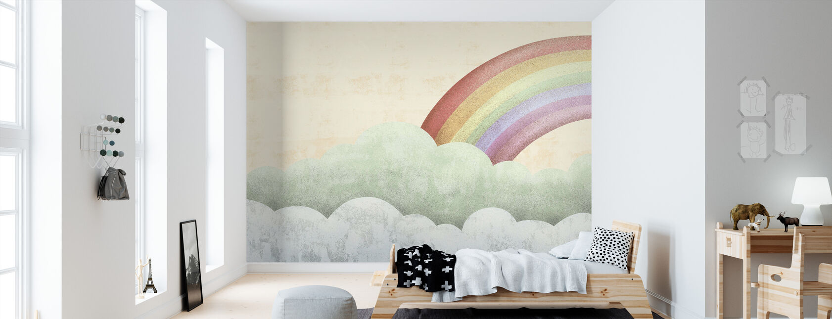 rainbow - Wallpaper - Kids Room
