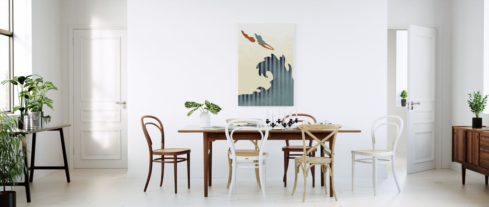 Holy Diver - Canvas print - Kitchen