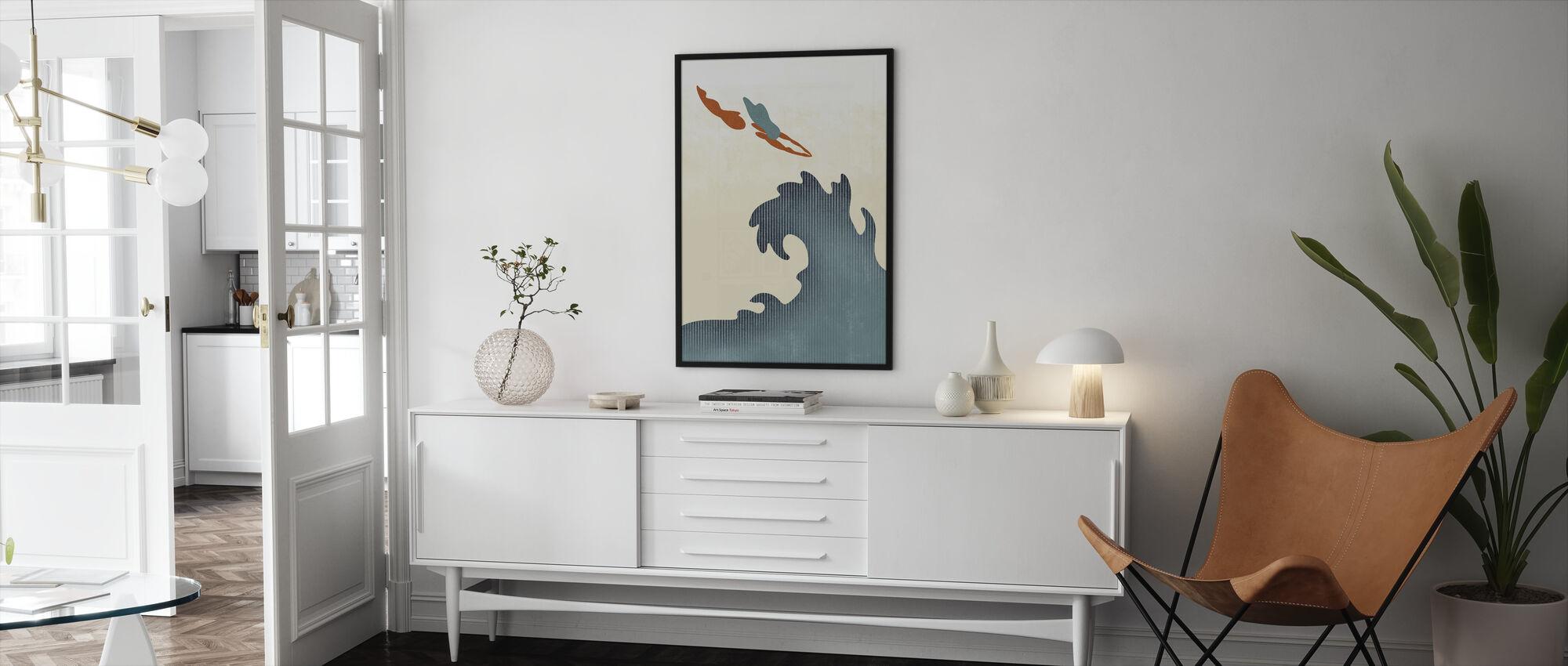 Heliga dykare - Inramad tavla - Vardagsrum